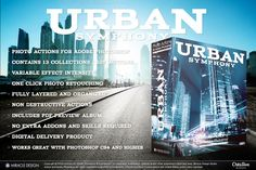 Actions for Photoshop / Urban  on @creativework247