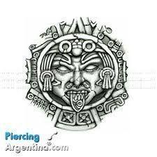 Resultado de imagen para dibujos tatuajes tribales tolteca