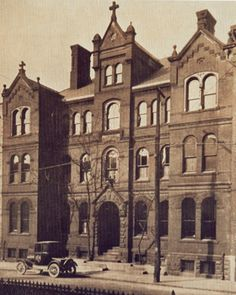 The Historic Priory Hotel in Pittsburgh Pennsylvania