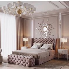 credit ⚜️Themillionaires mindset⚜️exterior beautiful beautifulview livingroom livingroomdecor bathroom amazing exteriordesign… is part of Glam master bedroom - Home Interior, Living Room Interior, Home Decor Bedroom, Living Room Decor, Interior Design, Bedroom Furniture, Bedroom Ideas, Luxury Bedroom Design, Master Bedroom Design