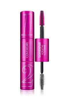 Covergirl Bombshell Volume Mascara ($12, ulta.com): I'll skip shadow and go all out with the lashes, painting them with this dramatic, clump-free formula.