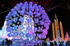 Festival de nieve y hielo en Harbin