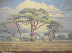 Jacobus Hendrik Pierneef Art Pictures, Art Images, Bing Images, African Paintings, Tree Paintings, South African Artists, Witch Art, Stone Mosaic, Landscape Art