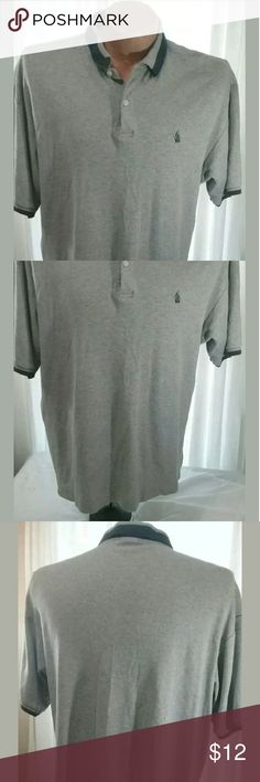 Nautica Mens Gray Polo Shirt XXL For sale is a Men's Nautica Polo Shirt Size XXL -Very Good Pre-owned Condition? No holes or stains?  Approximate Measurements? Pit to Pit- 25? LFC- 32?  Please, view all pictures, and ask questions if you have any.? I GENERALLY SHIP OUT WITHIN ONE BUSINESS DAY OF RECEIVED PAYMENT.? Shirts Polos
