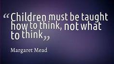 @MargaretMead True saying.