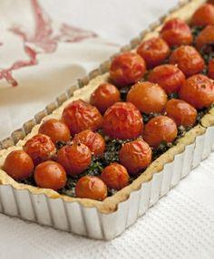 Tartaleta de tomatitos cherry. Recetas Express de LIDER