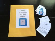 Bible scripture memory gamesd