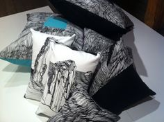 Iconic Tasmanian Landscape cushions by Topology Design