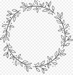 Embroidery Patterns Free, Embroidery Art, Embroidery Stitches, Embroidery Designs, Watercolor Flower Wreath, Food Graphic Design, Wreath Drawing, Flower Doodles, Doodle Art