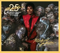 ▶ Michael Jackson - Thriller - YouTube  Who doesn't like Thriller.  Only album of his that I bought.