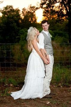 Real Weddings: Adrianne  Richard's Handmade Country Wedding for $2,000 by lavonne