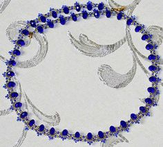 Beads Magic - free beading patterns and everything about handmade jewelry: beads patterns, schemas, photos, ideas, inspiration. Seed Bead Necklace, Seed Bead Jewelry, Bead Jewellery, Diy Necklace, Beaded Jewelry, Handmade Jewelry, Beaded Bracelets, Seed Beads, Beading Patterns Free