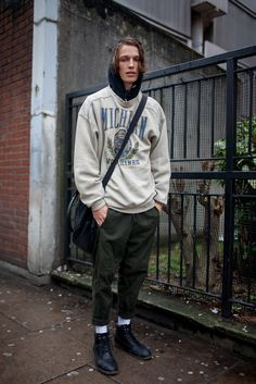 London Men's Fashion Week street style                                                                                                                                                     More