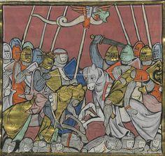 BNF Français 95 Histoire du Saint Graal / Histoire de Merlin (1280-1290)
