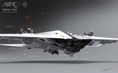 CGTalk - AIPAC / Thrust best fighter ship 3D, Christian Grajewski (3D)