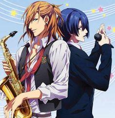 Uta no Prince-sama- Ren Jingūji and Masato Hijirikawa