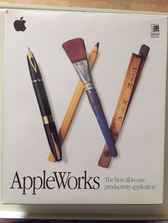 AppleWorks 5 Software CD Rom Installation Guide User's manual MAC OS Windows 95