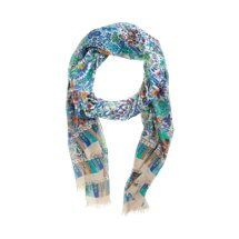 Barneys New York Folk Floral Print Scarf