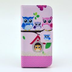 PU Leather Wallet Cases Protective Skin for Iphone 5 5s Flip Folio Case Stand Holder Lovely Owls Caselo http://smile.amazon.com/dp/B00KHX98EY/ref=cm_sw_r_pi_dp_L66Ltb09303RG2JG