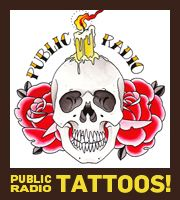 Public Radio Tattoos, Now In Our Store   This American Life