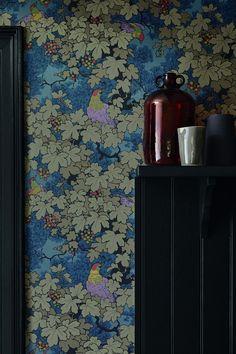 Stunning Vine wallpaper design, new by Little Greene.