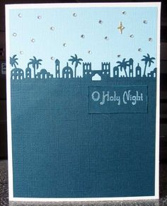 ..Taylored Expressions Bethlehem  Border. O Holy Night Card.