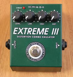 AMT Electronics Extreme III Distortion Combo Emulator Guitar Effects Pedal