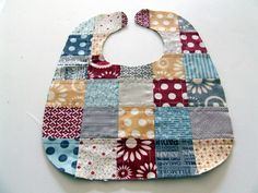A while ago I had a couple people ask about a pattern for this baby bib. I decided just to go ahead and do a tutorial along with the patter...