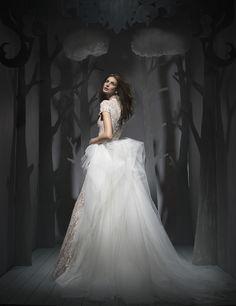 Ersa Atelier Fall 2016 Wedding Dresses - World of Bridal 2016 Wedding Dresses, Wedding Gowns, Bridal Gown, Ersa Atelier, Girls Dresses, Flower Girl Dresses, Modern Princess, Contemporary Dresses, Strapless Gown