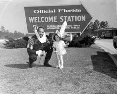 This little girl is ready to explore Florida with the Conquistador! (ca. 1910) | Florida Memory