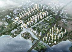 Shaoxing Housing Masterplan, China Rocco City Photo, China, House, Home, Homes, Porcelain, Houses