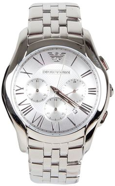 Emporio Armani AR1702 Classic Steel Chronograph Men's Watch