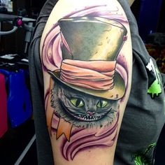 150+ Charming Alice in Wonderland Tattoo Designs cool