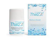 ThatZit! All-Natural Acne Treatment Max