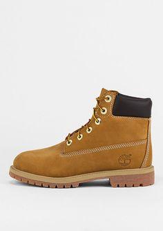f8c0ea745d Timberland Stiefel Kids 6'' Classic Boot Pemium wheat - Schuhe Winterschuhe  Boots und Stiefel