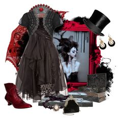 """This Ebony Bird"" by matildaaah ❤ liked on Polyvore featuring Marchesa, Oasis and House of Harlow 1960"