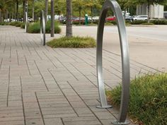 Contemporary horizon bike rack - surface mount   $310 each