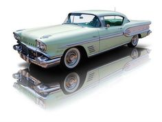 1958 Pontiac Bonneville 370 Tri Power V8