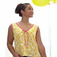 Free blouse and collar patterns from Sew News April/May '12!