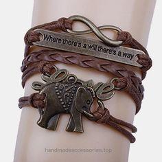 Creazy® Elephant Handmade Leather Braid Fashion Bracelet Check It Out Now     $3.09    Elephant Handmade Leather Braid Fashion Bracelet  Features:  100% Brand new and high quality.  Quantity: 1PC  Colo ..  http://www.handmadeaccessories.top/2017/03/28/creazy-elephant-handmade-leather-braid-fashion-bracelet-2/