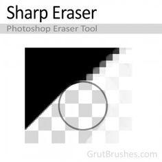 ✓ Sharp - Crisp edge ✓ Enhances - Improves on Photoshop eraser ✓ Responsive - Pressure sensitive* ✓ Aliased - Slightly aliased pixels *requires a pressure sensitive graphics tablet Artist Brush, Photoshop Brushes, Cool Photos, Graphic Design, Crisp, Graphics, Printmaking, Visual Communication