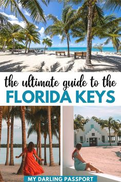 The Ultimate Guide to the Florida Keys. The Keys have something for everyone- the thrill seeker, the beach lounger, the luxury-minded traveler, the partier, the nature lover. Read on for a comprehensive travel guide to The Florida Keys! | Florida travel | Florida itinerary | Florida beaches | Florida Vacation | What to do in the Florida Keys | Key West | Florida Keys Road Trip | Things to do in florida keys