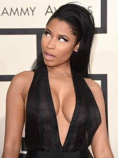 Nicki Minaj's Boobs Conquer The Grammys