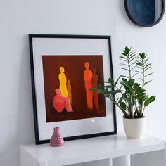 Conversation, , Wall Art Print of Original Oil Painting, Original contemporary art, wall decor Printable Wall Art, Wall Art Prints, Conversation, Contemporary Art, Wall Decor, Oil, The Originals, Unique Jewelry, Frame