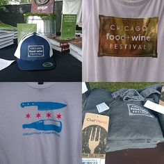 Don't forget to grab some great Chicago Food + Wine Festival gear at our store near the main entrance.