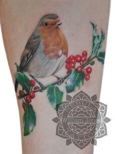 Robin Tattoo by nebulatattoo Robin Tattoo, Just Ink, Black And Grey Tattoos, I Tattoo, Tattoos For Women, Watercolor Tattoo, Tatting, Body Art, Piercings