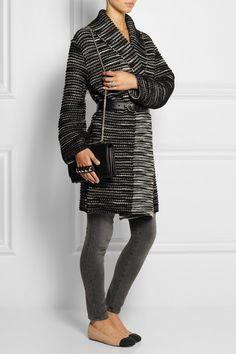 MISSONI Oversized wool-blend cardigan