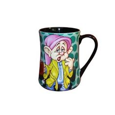 Disney Dopey 'Who isn't Dopey.' Coffee Mug - - Brighten up your morning when you poor your coffee or any hot beverage in this delightful ceramic cup. Coffee Cup Crafts, Coffee Cup Art, Disney Dishes, Disney Cups, Disney Coffee Mugs, Disney Kitchen, Cool Mugs, I Love Coffee, Mug Cup