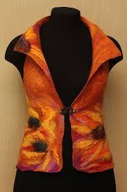 Image result for felted vests