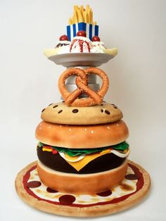 The Creative Cakes from Charm City Cakes : Fast-Food Dreams — or Nightmares